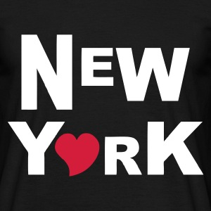 Noir NY T-shirts - T-shirt Homme