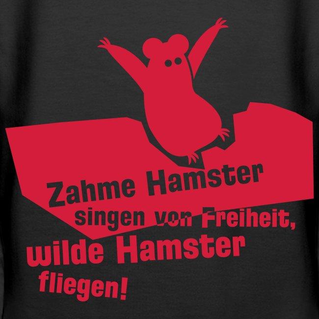 Hamster - schwarz kapu girlie