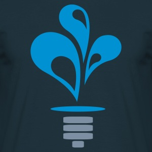 Hydro Power Light Bulb (v1, 2c, MPde) - Männer T-Shirt