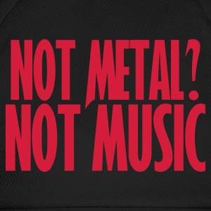 Not Metal Not Music Cap - Gorra béisbol