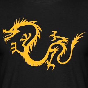 Ancient Dragon (v1, 1c, MPdk) - Herre-T-shirt