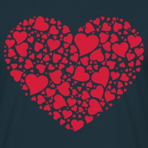 A Thousand Hearts (v1, 1c, MPen) - Men's T-Shirt