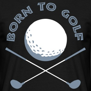 born_to_golf Camisetas - Camiseta hombre