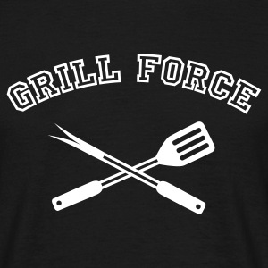 Grill Force | Grillen | BBQ T-Shirts - T-skjorte for menn