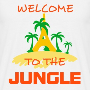 WELCOME TO THE JUNGLE - T-shirt Homme