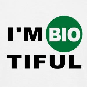 i am biotiful - Men's T-Shirt