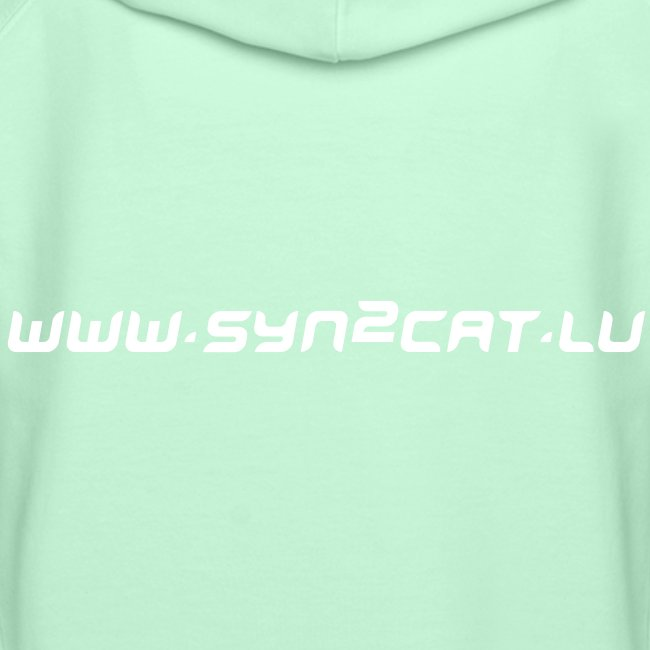 Japanese syn2cat women's hoody (black edition)