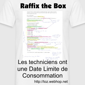 Blanc Raffix the box T-shirts - T-shirt Homme