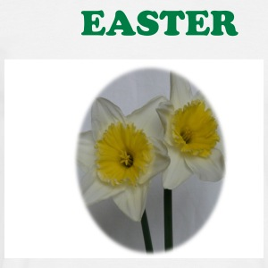 White Easter Daffodils Men's Tees - Men's T-Shirt