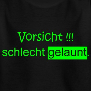 Kids Shirt schlecht gelaunt - Teenager T-Shirt