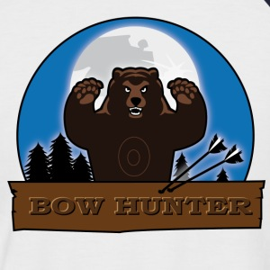 Bowhunter - Bear - Männer Baseball-T-Shirt