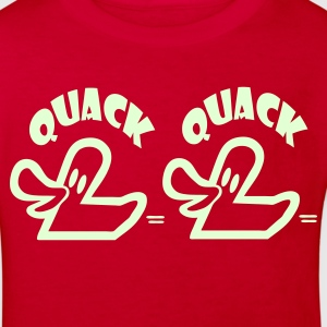 Red Quack Quack Kid's Shirts  - Kids' Organic T-shirt