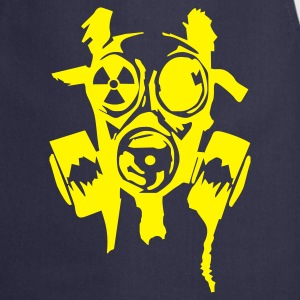 Navy bad gasmask radioactiv  Aprons - Cooking Apron