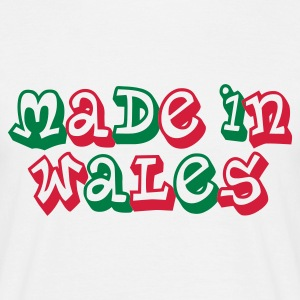 Made in Wales Men's T-Shirt White - Men's T-Shirt