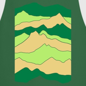 Green mountains  Aprons - Cooking Apron