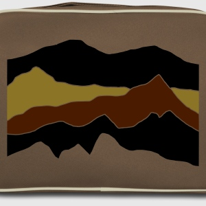 Brown / sand mountains Bags  - Retro Bag