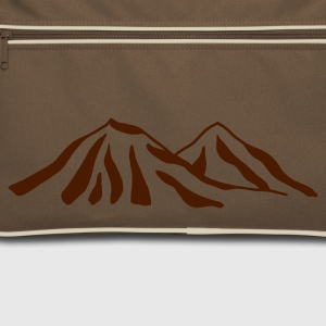 Marron / sable mountains Sacs - Sac Retro