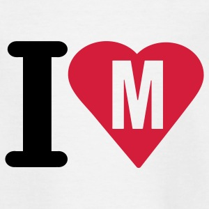 i_love_m - Teenager T-shirt