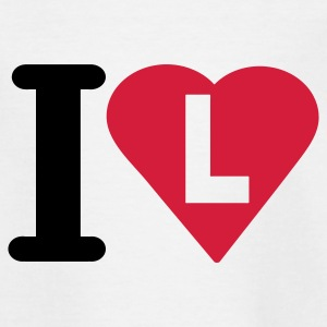 i_love_l - T-shirt Ado