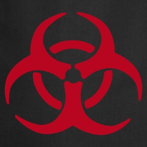 Black Biohazard Warning  Aprons - Cooking Apron