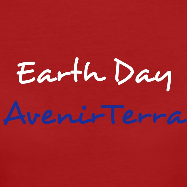 T-Shirt Femme AvenirTerra Earth Day