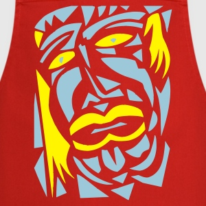 red,face 7 - Cooking Apron