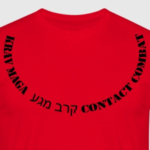 Red km_neckline Men's Tees - Men's T-Shirt