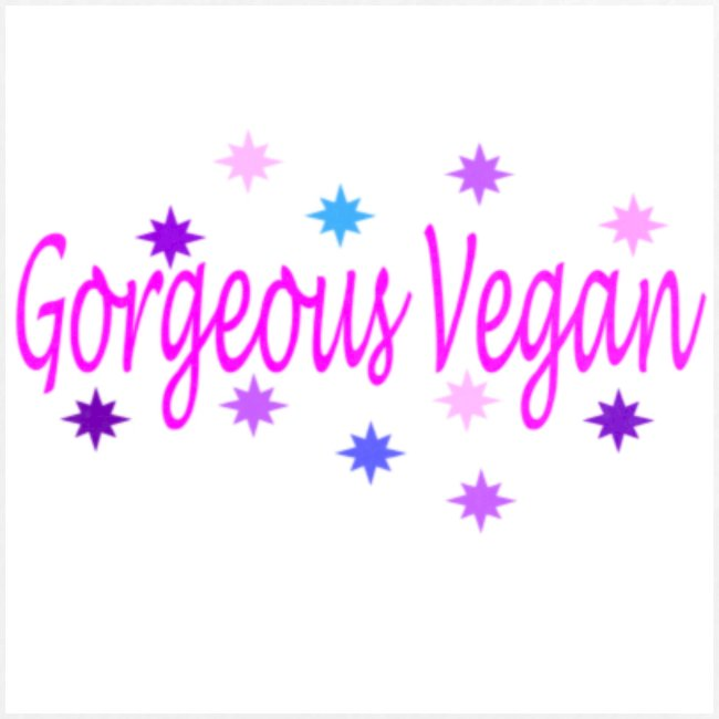 Gorgeous Vegan badge