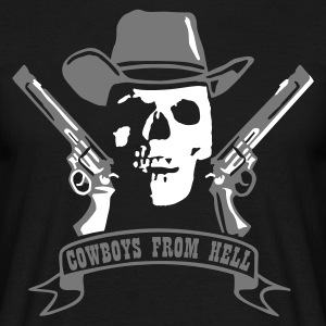cowboys_from_hell T-shirts - T-shirt herr