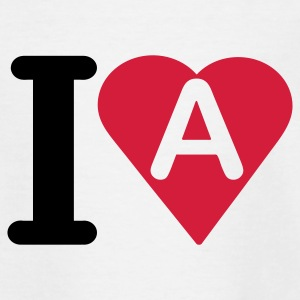 i_love_a - Teenager T-shirt