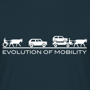 Evolution of Mobility GB - Mannen T-shirt