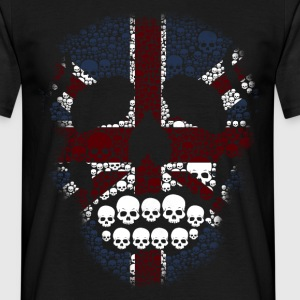The British Skull Stencil T-Shirt - Men's T-Shirt
