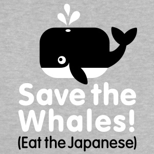 Save the Whales! Eat the Japanese Baby shirts - Baby T-shirt