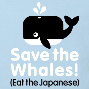 Save the Whales! Eat the Japanese Kinder shirts - Kinderen Bio-T-shirt