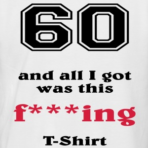 60 and all I got... Tee shirts - T-shirt baseball manches courtes Homme