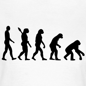 Evolution T-Shirts - Frauen T-Shirt