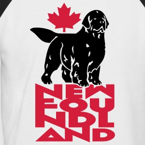 newfoundland, canada B - T-shirt baseball manches courtes Homme
