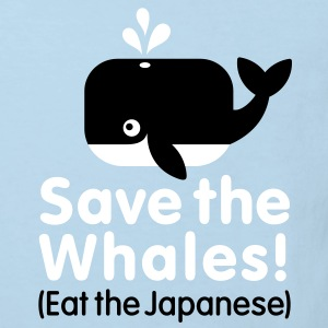 Save the Whales! Eat the Japanese Kinder T-Shirts - Kinder Bio-T-Shirt