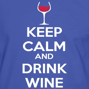 Keep Calm and drink wine T-Shirts - Men's Ringer Shirt