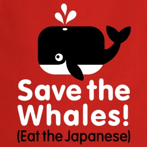 Save the Whales! Eat the Japanese Tabliers - Tablier de cuisine