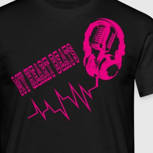 Music Beat - Herre-T-shirt