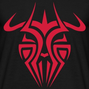 Mens Tribal Tattoo Mask T-shirt - Men's T-Shirt