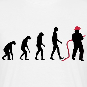 Evolution Firefighter T-Shirts - Männer T-Shirt