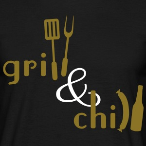 Grill and Chill T-Shirts - Men's T-Shirt