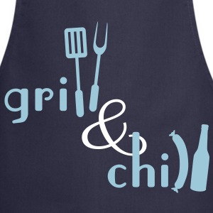 Grill and Chill  Aprons - Cooking Apron
