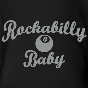 Rockabilly Baby T-Shirts - Baby Bio-Kurzarm-Body