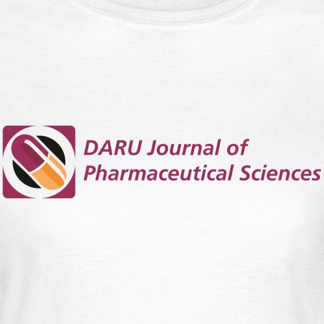 women's t-shirt DARU Journal of Pharmaceutical Sciences