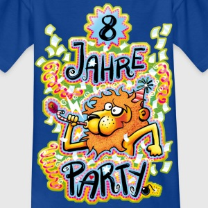 8 Jahre Party - Kinder T-Shirt