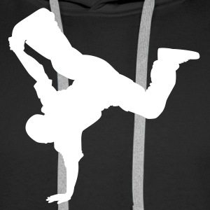 breakdancer06 fr - Men's Premium Hoodie
