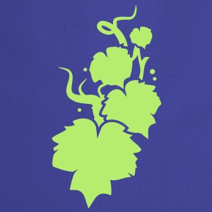 a vine in silhouette  Aprons - Cooking Apron
